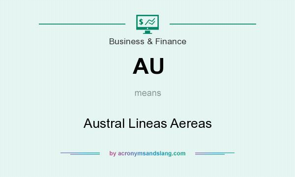 What does AU mean? It stands for Austral Lineas Aereas