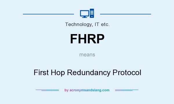 FIRST HOP REDUNDANCY PDF DOWNLOAD