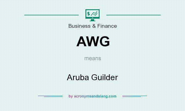 What does AWG mean? It stands for Aruba Guilder