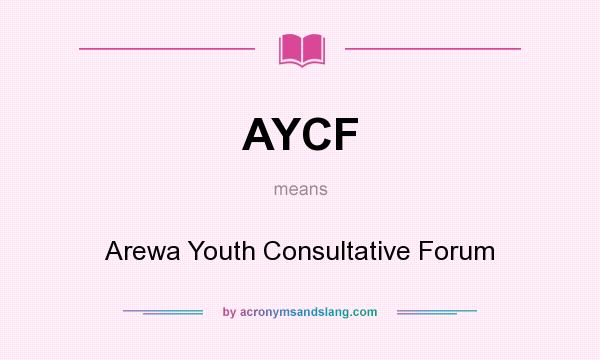 Image result for The Arewa Youth Consultative Forum (AYCF)