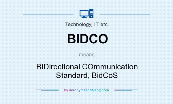 technology solutions for bidco oil company