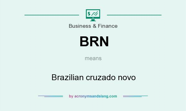What does BRN mean? It stands for Brazilian cruzado novo