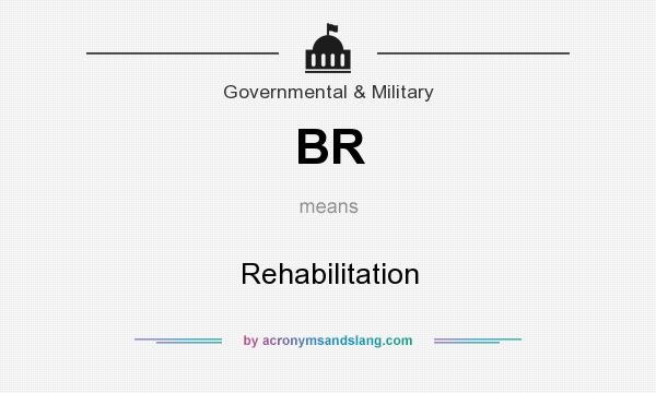 What does BR mean? It stands for Rehabilitation