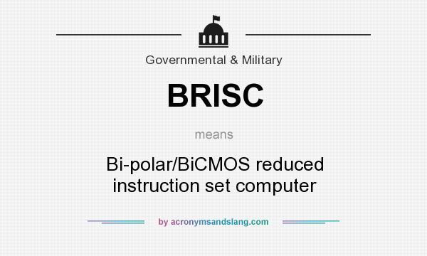 Brisc Bi Polarbicmos Reduced Instruction Set Computer In