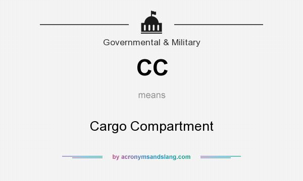 What does CC mean? It stands for Cargo Compartment