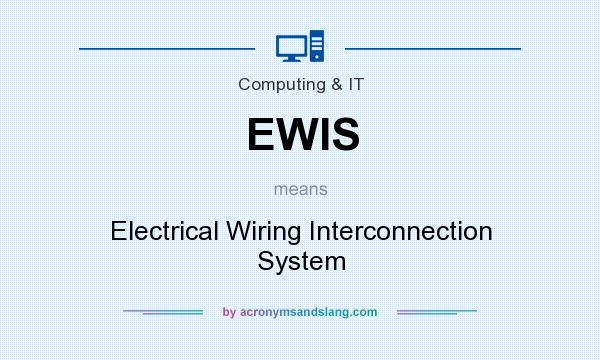 ewis electrical wiring interconnection system in computing  our electrical wiring interconnection