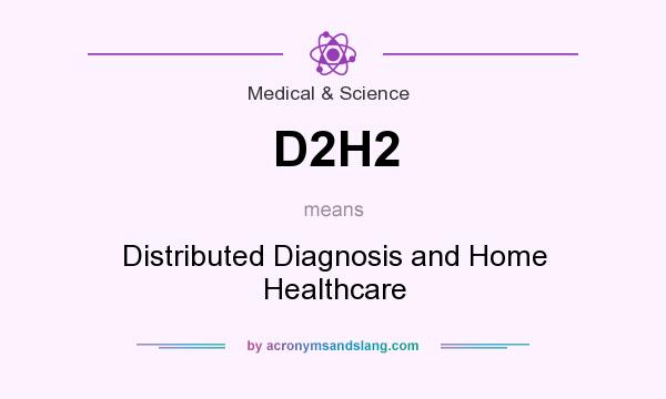 What does D2H2 mean? It stands for Distributed Diagnosis and Home Healthcare
