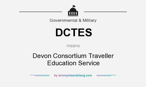What does DCTES mean? It stands for Devon Consortium Traveller Education Service