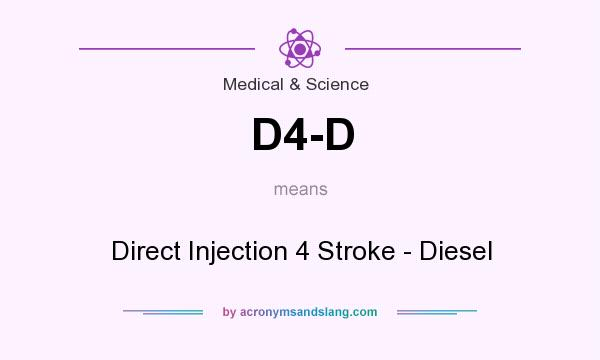 What does D4-D mean? It stands for Direct Injection 4 Stroke - Diesel