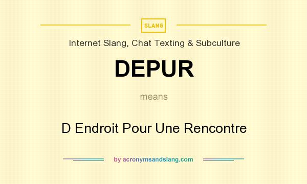 meaning of rencontre