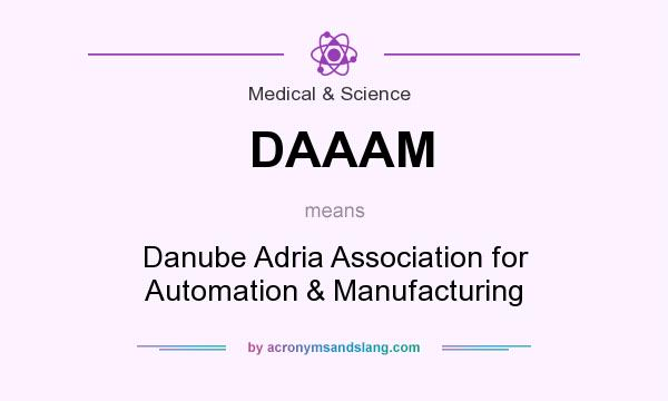 What does DAAAM mean? It stands for Danube Adria Association for Automation & Manufacturing