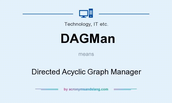 What does DAGMan mean? It stands for Directed Acyclic Graph Manager
