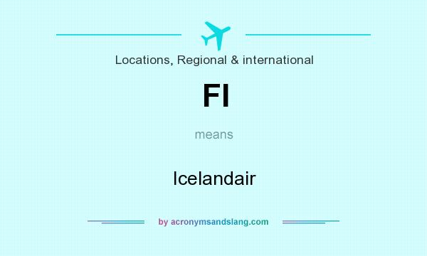 What does FI mean? It stands for Icelandair