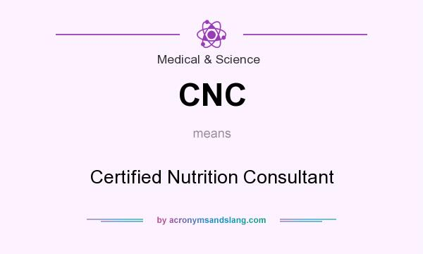 CNC - Certified Nutrition Consultant in Medical & Science by ...