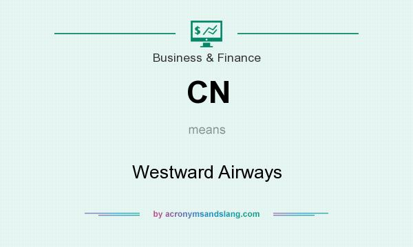 What does CN mean? It stands for Westward Airways