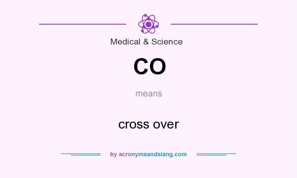 What does CO mean? It stands for cross over