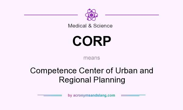 What does CORP mean? It stands for Competence Center of Urban and Regional Planning