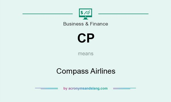 What does CP mean? It stands for Compass Airlines