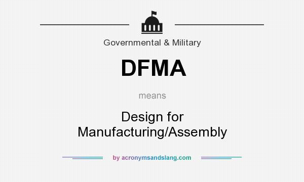 Design For Manufacturing And Assembly : Dfma design for manufacturing assembly in government