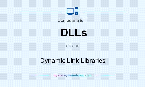 What does DLLs mean? It stands for Dynamic Link Libraries
