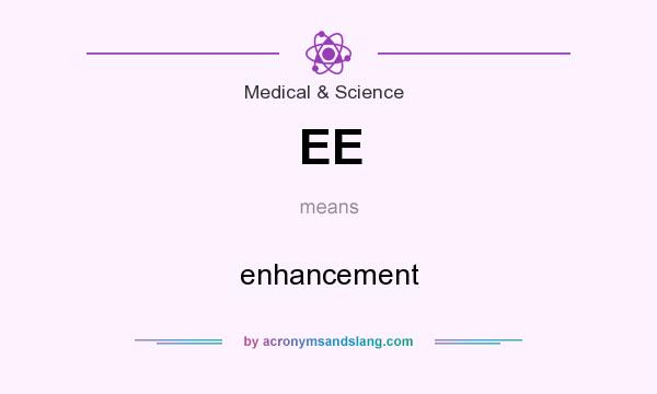 What does EE mean? It stands for enhancement