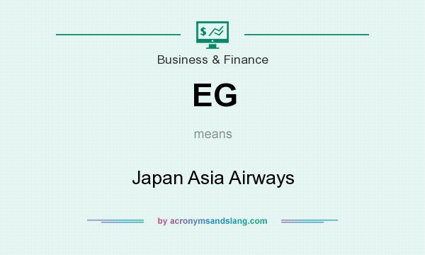 What does EG mean? It stands for Japan Asia Airways