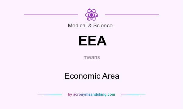 What does EEA mean? It stands for Economic Area