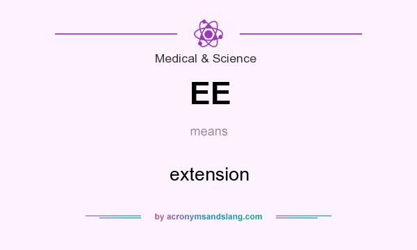 What does EE mean? It stands for extension