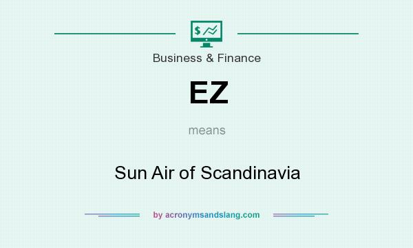 What does EZ mean? It stands for Sun Air of Scandinavia