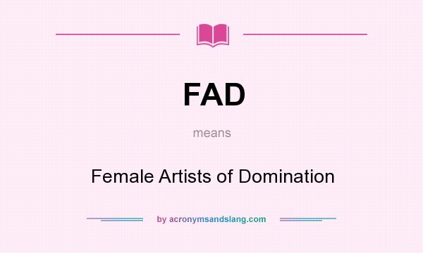 Female artists of domination