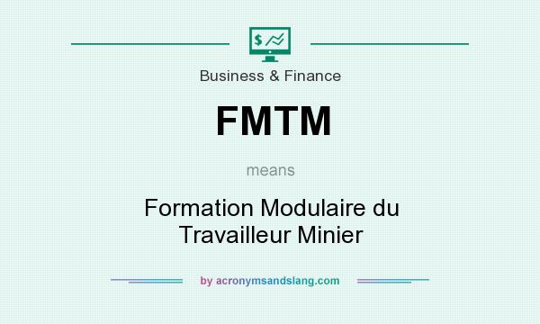 Fmtm formation modulaire du travailleur minier in for Stand modulaire