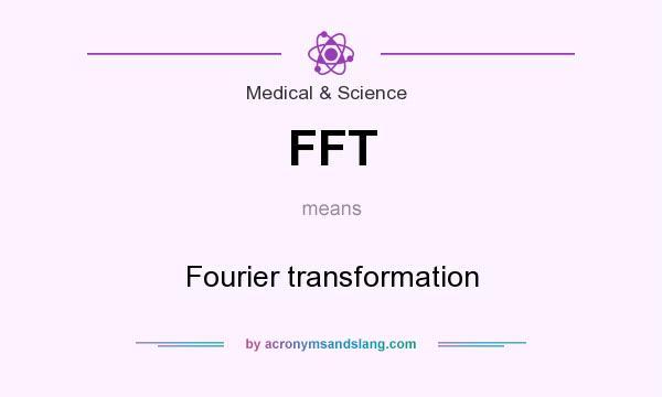 Diskrete fourier transformation