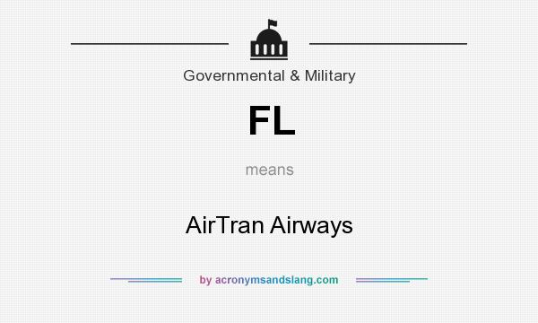 What does FL mean? It stands for AirTran Airways