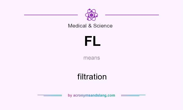 What does FL mean? It stands for filtration