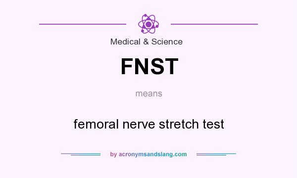 fnst - femoral nerve stretch test in medical & science by, Muscles