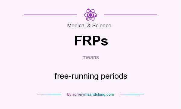 What does FRPs mean? It stands for free-running periods