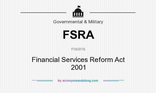 financial services reforms act The reforms will impose new obligations on financial services and product providers, while granting greater protections to consumers, so the short answer to the question in the title is yes the reforms will impact upon insurance agencies, financial services licensees, mortgage brokers and the clients of those institutions.