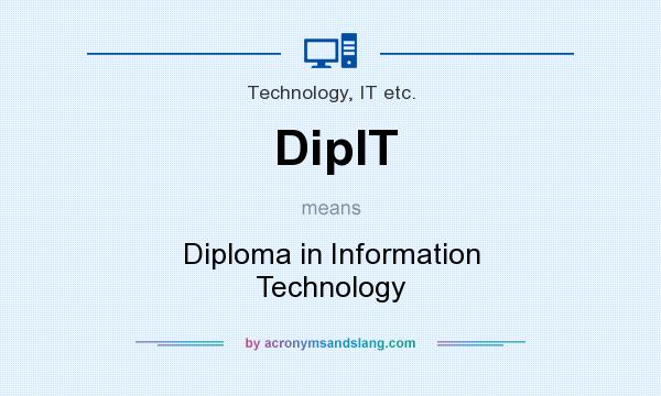 what does dipit mean definition of dipit dipit stands for  definition of dipit dipit stands for diploma in information technology by com