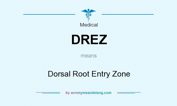 What does DREZ mean? It stands for Dorsal Root Entry Zone