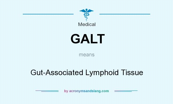 What does GALT mean? It stands for Gut-Associated Lymphoid Tissue