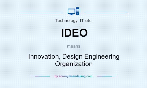 ideo innovation design engineering organization in