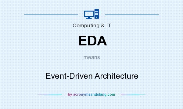What does EDA mean? It stands for Event-Driven Architecture