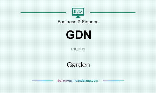 What does GDN mean? It stands for Garden