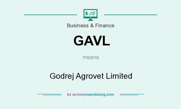 What does GAVL mean? It stands for Godrej Agrovet Limited