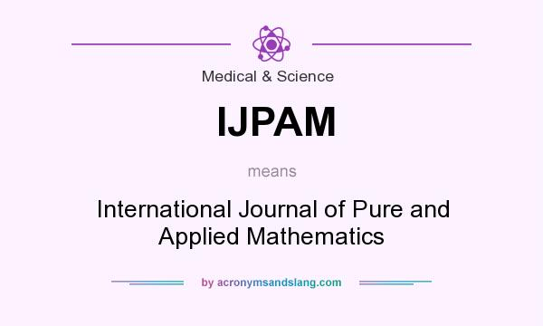 international journal of pure and applied mathematics scimago