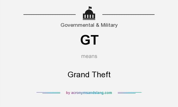 What does GT mean? It stands for Grand Theft