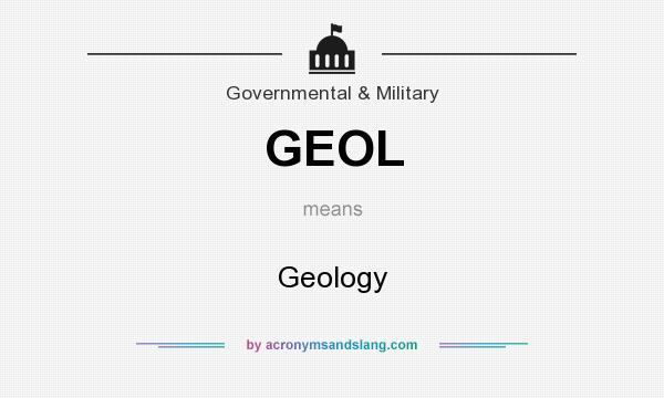What does GEOL mean? It stands for Geology