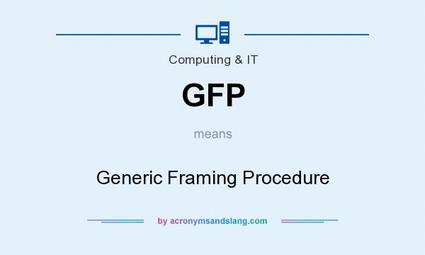 What does GFP mean? It stands for Generic Framing Procedure