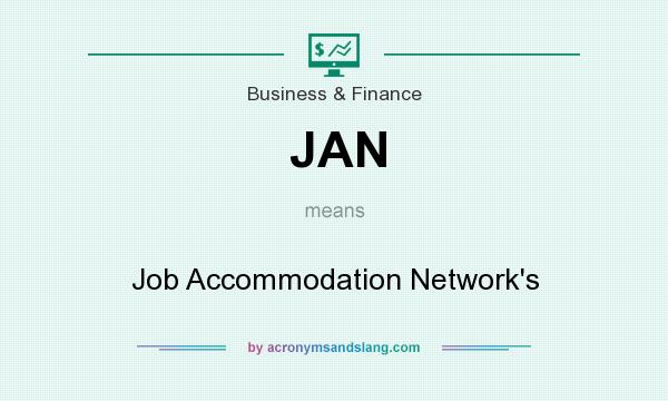 What does JAN mean? It stands for Job Accommodation Network`s