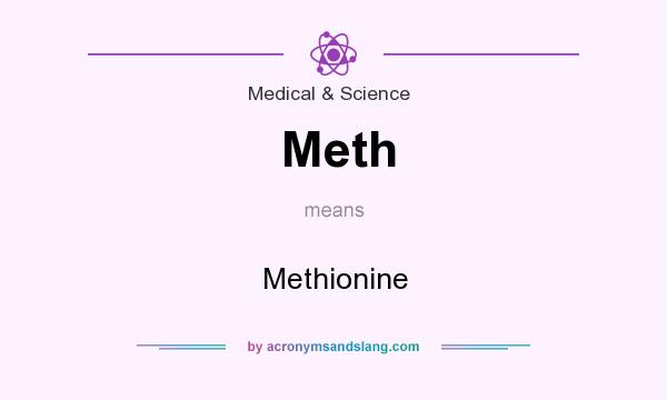 What does Meth mean? It stands for Methionine